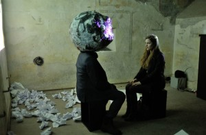 Opera di Nina Staehli (foto by Dragonetti)