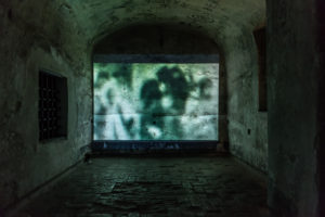 Segrete 2019 video installation - Silvano Repetto